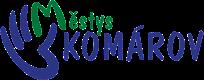 městys Komárov logo